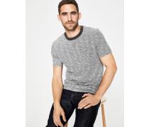 Flammgarn-Shirt mit Rundhalsausschnitt Grey Herren