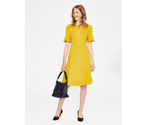 Alexis Jersey-Kleid Yellow Damen