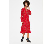 Elsie Midikleid Red Damen
