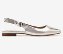 Hilary Slingbackballerinas Silver Damen