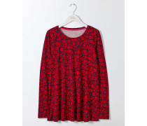 Libby Jerseyshirt Red Damen