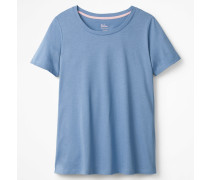 Superweiches unkompliziertes T-Shirt Blue Damen