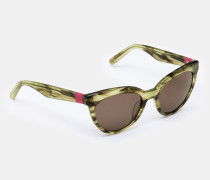 Blair Sonnenbrille Green Damen
