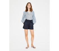 St. Ives Paperbag-Shorts Navy Damen