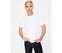 Vorgewaschenes T-Shirt White Herren