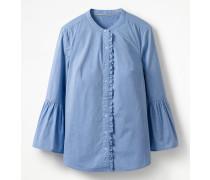 Hemd mit Glockenärmeln Blue Damen