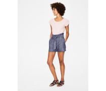 St. Ives Paperbag-Shorts Denim Damen