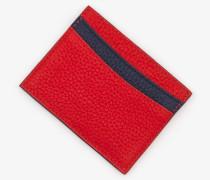Kartenhalter aus Leder Red Damen