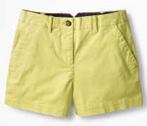 Rachel Chino-Shorts Yellow Damen
