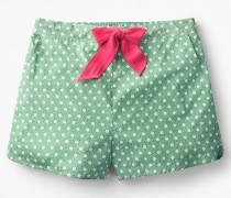 Suzie Pyjamashorts Green Damen