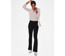Marylebone Schmale Bootcut-Jeans Black Damen