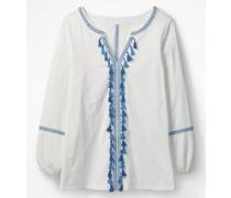 Alison Jerseyshirt White Damen