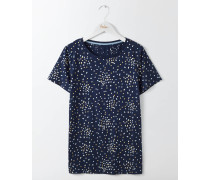 Make a Statement T-Shirt Navy Damen