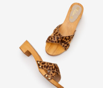 Orella Clogs Brown Damen