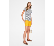 Helena Chinoshorts Yellow Damen