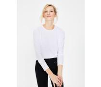 Superweiches T-Shirt mit Rundhalsausschnitt White Damen