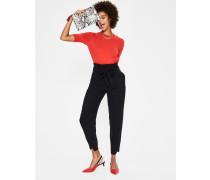 Melina Paperbag-Hose Black Damen