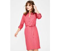 Jena Hemdblusenkleid aus Jersey Pink Damen