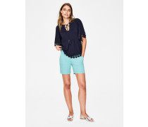 Helena Chinoshorts Blue Damen