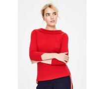 Sarah Ottoman-Shirt Red Damen