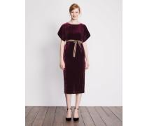 Robyn Samtkleid Purple Damen