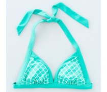 Neckholder-Bikinioberteil Green Damen