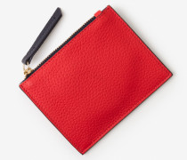 Münzbörse aus Leder Red Damen