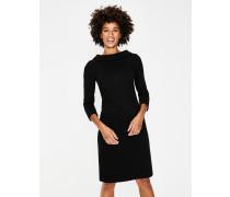 Estella Jacquard-Kleid Black Damen