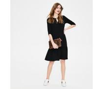 Selena Jerseykleid Black Damen