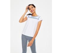 Elisabeth Jerseyshirt White Damen