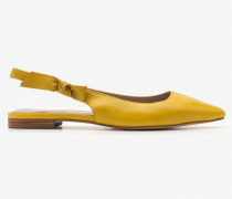 Hilary Slingbackballerinas Yellow Damen
