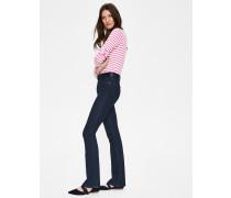 Marylebone Schmale Bootcut-Jeans Blue Damen