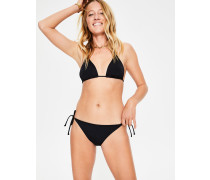 Bikinihöschen mit Bändern Black Damen