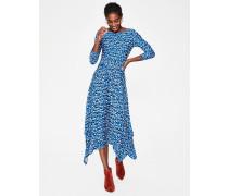 Maisie Jersey-Midikleid Blue Damen