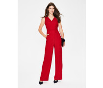 Hexham Jumpsuit Red Damen