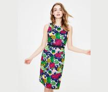 Retro-Kleid mit Taschen Multi Damen