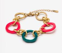 Farbenfrohes Armband Green Damen