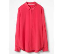 Das Seidenhemd Pink Damen