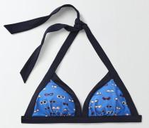 Ischia Neckholder-Bikinioberteil Blue Damen
