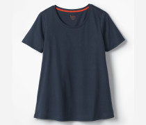Superweiches unkompliziertes T-Shirt Navy Damen