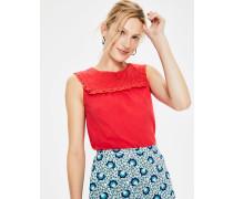 Nella Jerseyshirt Red Damen