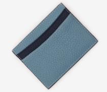 Kartenhalter aus Leder Blue Damen