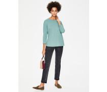 Superweiches Shirt mit überschnittenen Schultern Blue Damen