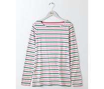 Langärmliges Bretonshirt Green Damen