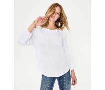 Freya Jersey-Shirt White Damen