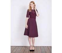 Lisa Kleid aus Ponte-Roma-Jersey Purple Damen
