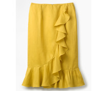 Neve Leinenrock Yellow Damen