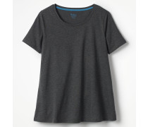 Superweiches unkompliziertes T-Shirt Grey Damen