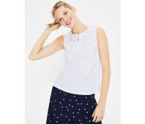Nella Jerseyshirt White Damen