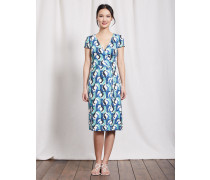 Sommerliches Wickelkleid Blue Damen